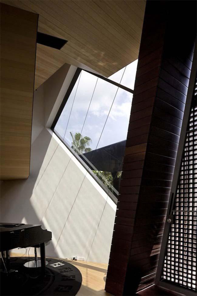 thiet ke nha dep 12 Gợi ý thiết kế nhà đẹp với kiến trúc kim cương độc đáo