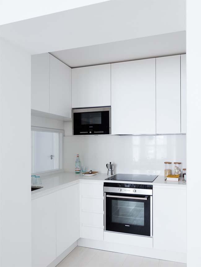 can ho chung cu 60m2 06 Biến hóa căn hộ 60m2 với nội thất trắng sáng hiện đại