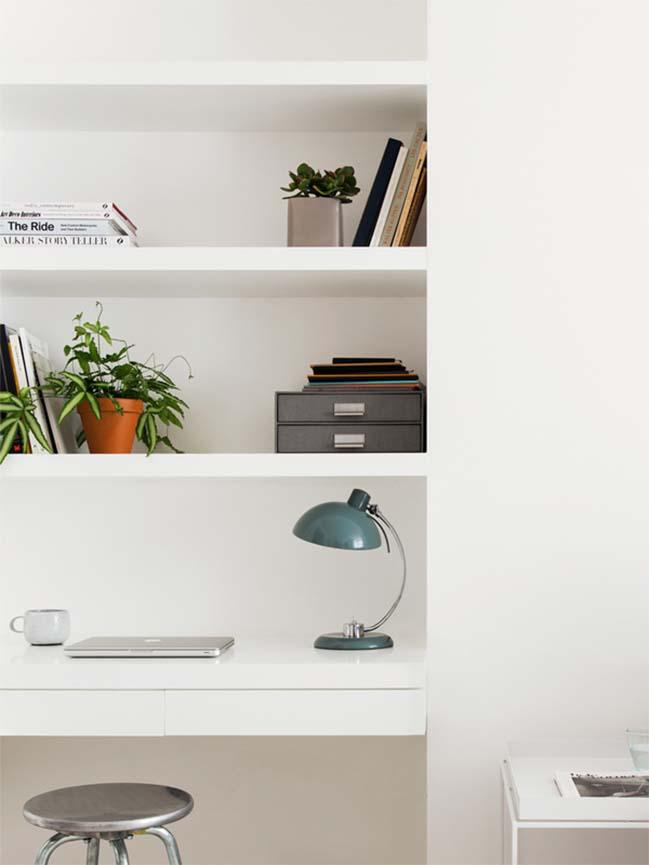 can ho chung cu 60m2 07 Biến hóa căn hộ 60m2 với nội thất trắng sáng hiện đại