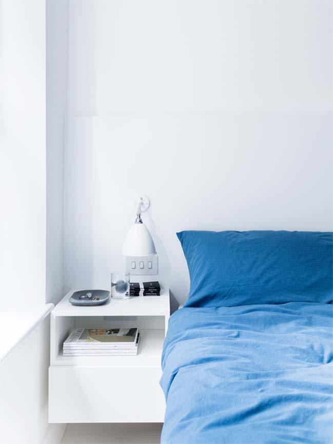 can ho chung cu 60m2 08 Biến hóa căn hộ 60m2 với nội thất trắng sáng hiện đại