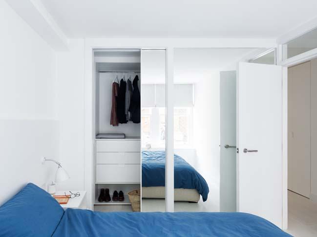 can ho chung cu 60m2 09 Biến hóa căn hộ 60m2 với nội thất trắng sáng hiện đại