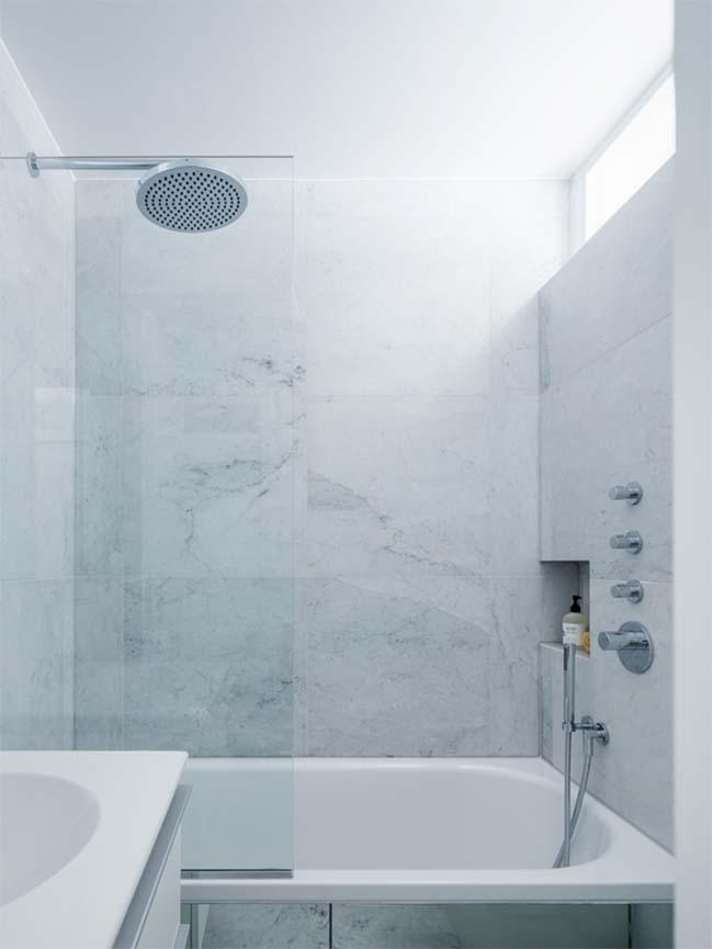 can ho chung cu 60m2 11 Biến hóa căn hộ 60m2 với nội thất trắng sáng hiện đại