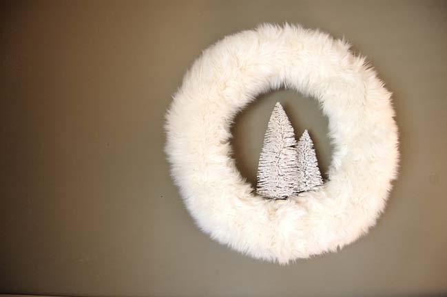 Tạo những vòng hoa hiện đại trang trí cho mùa giáng sinh