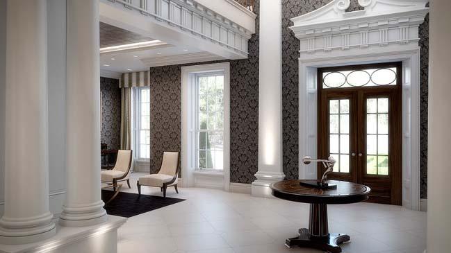 Thiết kế biệt thự đẹp sang trọng cho giới siêu giàu