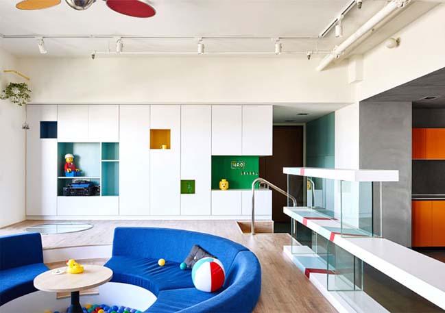 Thiết kế căn hộ chung cư với chủ đề LEGO