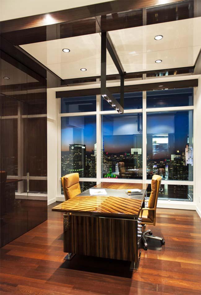 Kết hợp 3 căn hộ thành 1 penthouse sang trọng