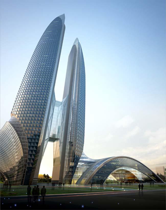 Cùng ngắm ý tưởng kiến trúc cho tòa tháp Petro Việt Nam