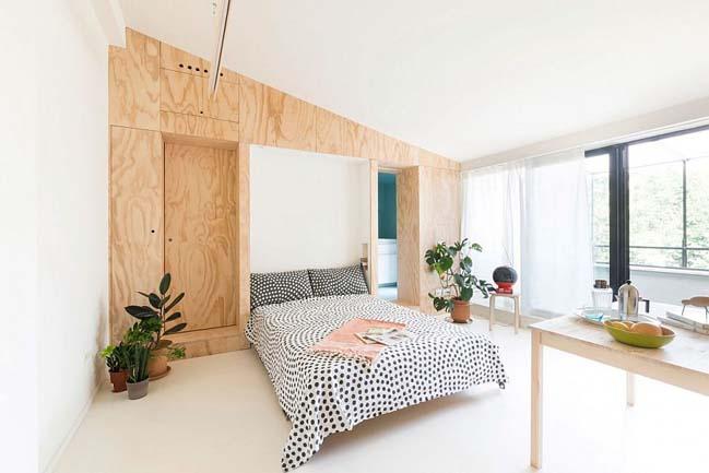nha nho dep 28m2 03 Tối ưu không gian cho nhà nhỏ đẹp 28m2 vẫn tiện lợi và đầy đủ nội thất