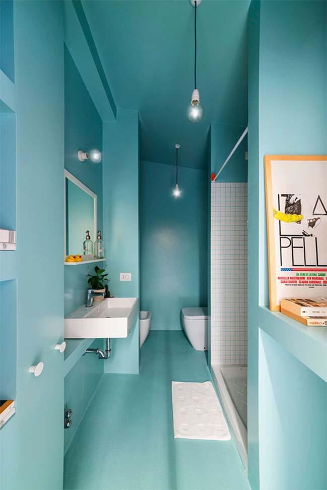 nha nho dep 28m2 08 Tối ưu không gian cho nhà nhỏ đẹp 28m2 vẫn tiện lợi và đầy đủ nội thất