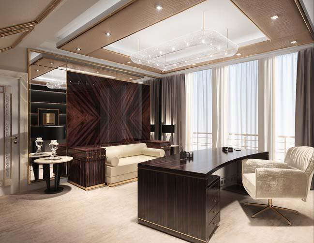 Mẫu thiết kế sang trọng cho các căn hộ cao cấp