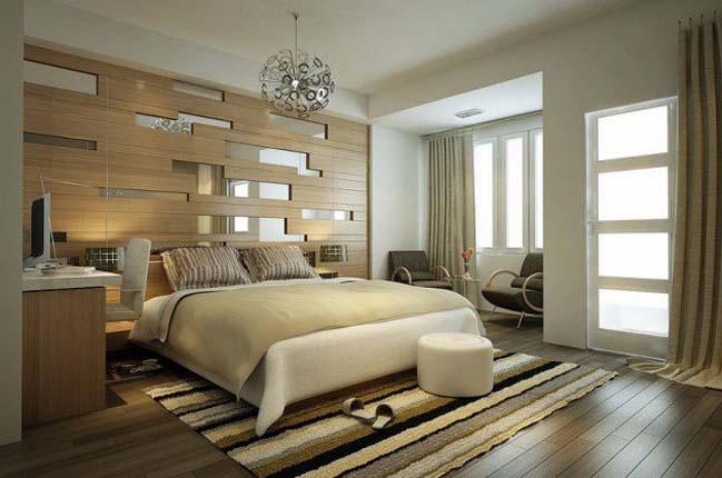 12 mẫu thiết kế tường giúp phòng ngủ bạn đẹp hơn