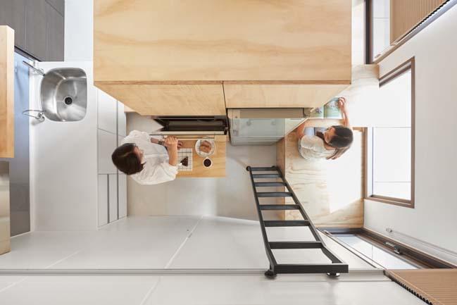 Cách bố trí cho nhà nhỏ đẹp 33m2