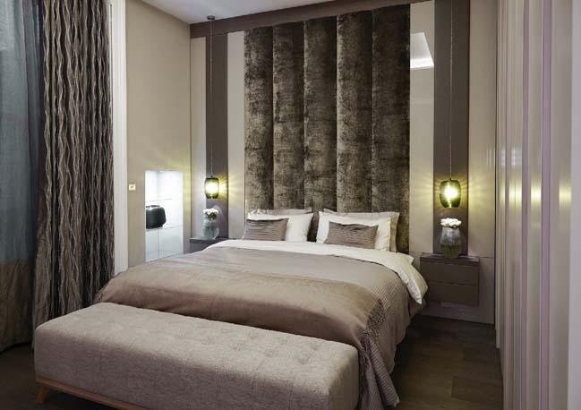 Nội thất sang trọng cho căn hộ chung cư 1 phòng ngủ
