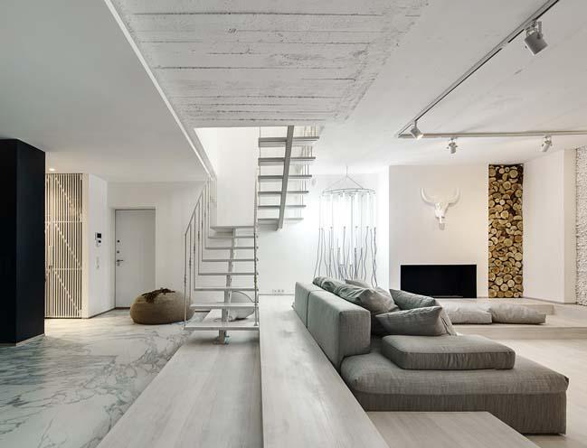 Mẫu nhà đẹp 2 tầng như phòng trưng bày nghệ thuật