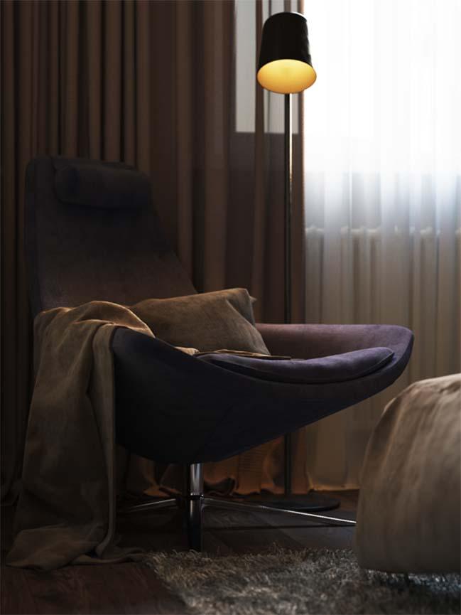Mẫu nội thất phòng ngủ đẹp hiện đại và ấm cúng