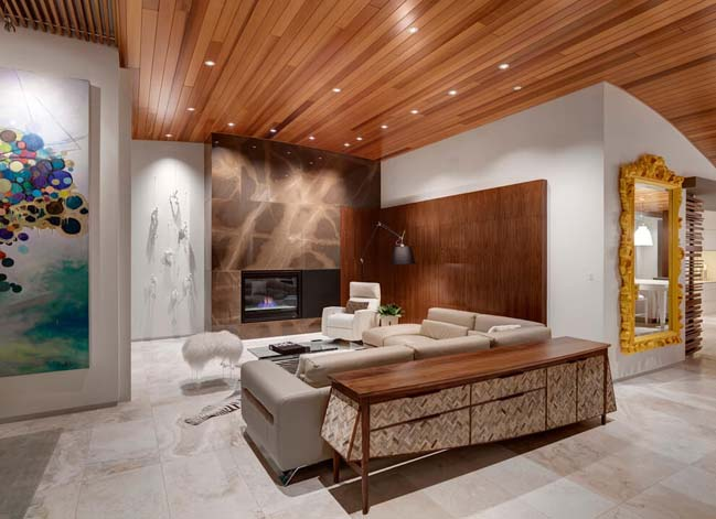 Căn hộ penthouse đẹp với thiết kế đương đại
