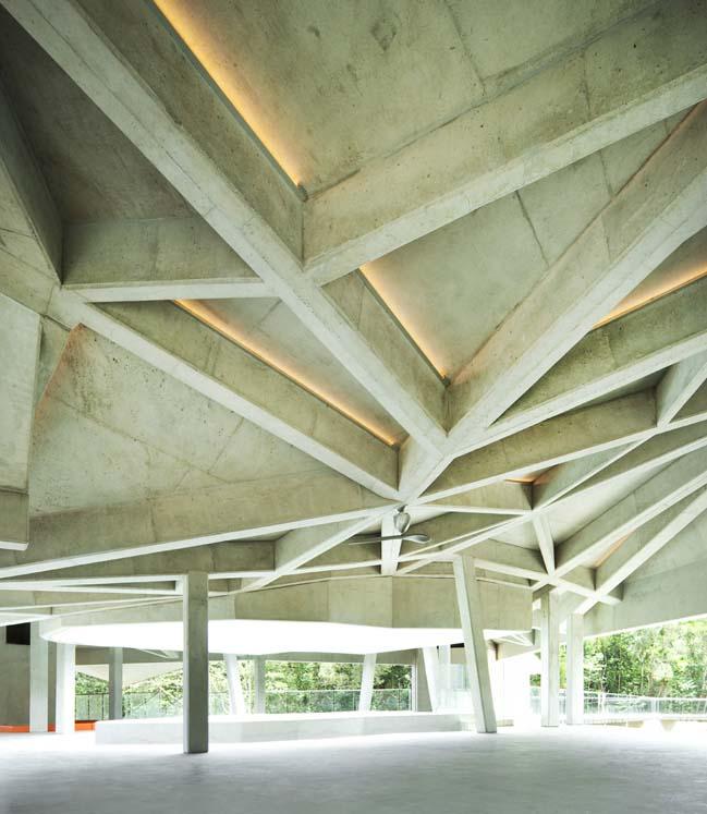 Mẫu nhà đẹp với kiến trúc bê tông độc đáo