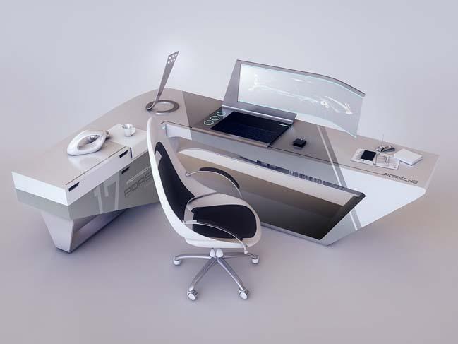 Mê mẫn với những mẫu thiết kế bàn làm việc siêu đẹp
