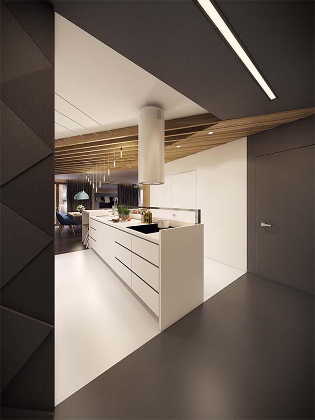 mau nha dep 06 Ngôi nhà đẹp không gian sống ấm áp và ấn tượng với một thiết kế nội thất hoàn hảo