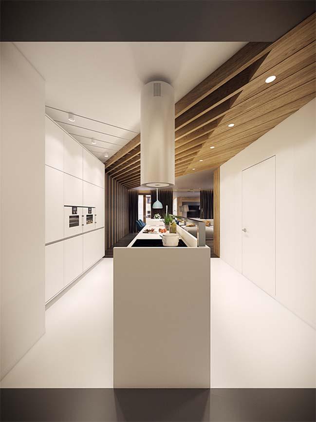 mau nha dep 07 Ngôi nhà đẹp không gian sống ấm áp và ấn tượng với một thiết kế nội thất hoàn hảo