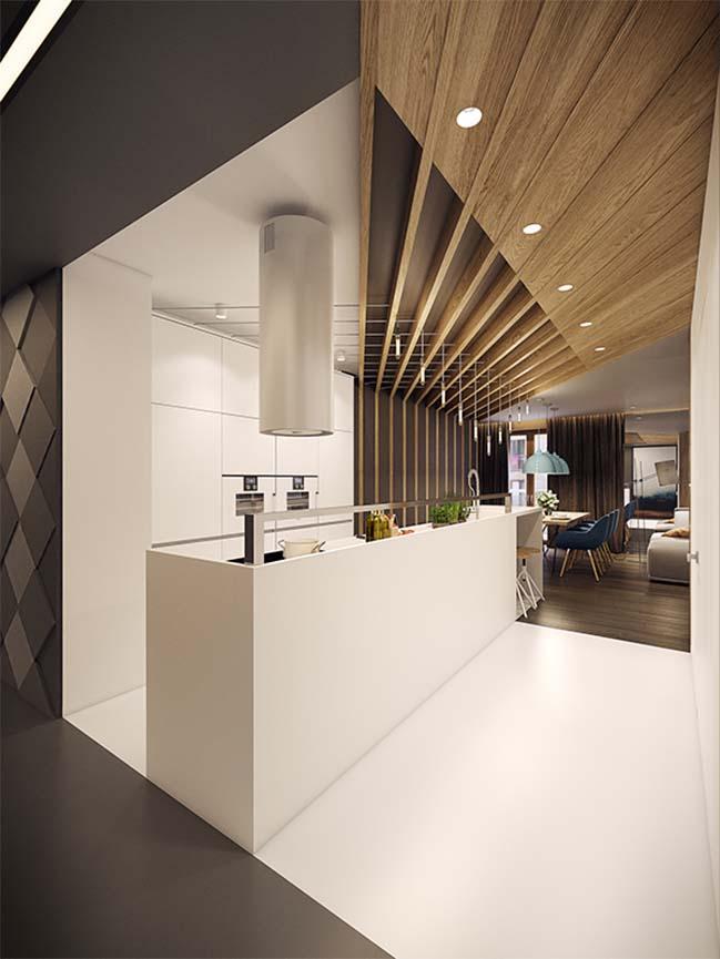 mau nha dep 08 Ngôi nhà đẹp không gian sống ấm áp và ấn tượng với một thiết kế nội thất hoàn hảo