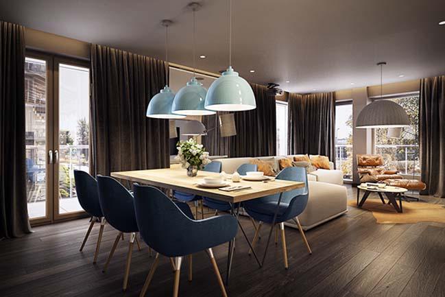 mau nha dep 11 Ngôi nhà đẹp không gian sống ấm áp và ấn tượng với một thiết kế nội thất hoàn hảo