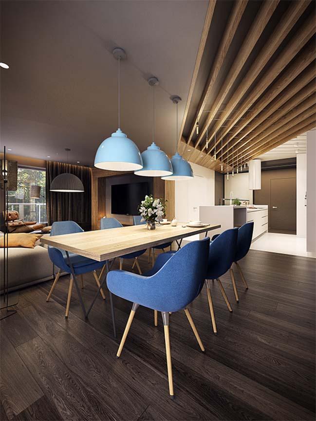 mau nha dep 13 Ngôi nhà đẹp không gian sống ấm áp và ấn tượng với một thiết kế nội thất hoàn hảo