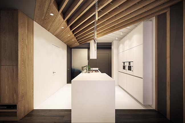mau nha dep 14 Ngôi nhà đẹp không gian sống ấm áp và ấn tượng với một thiết kế nội thất hoàn hảo