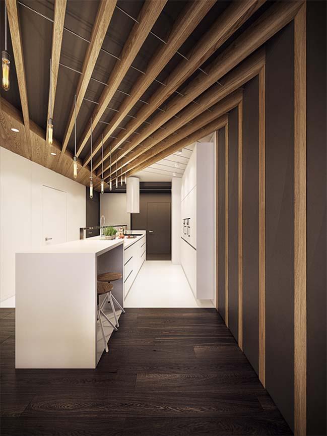 mau nha dep 15 Ngôi nhà đẹp không gian sống ấm áp và ấn tượng với một thiết kế nội thất hoàn hảo