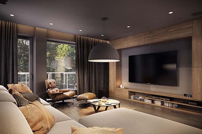 mau nha dep 17 Ngôi nhà đẹp không gian sống ấm áp và ấn tượng với một thiết kế nội thất hoàn hảo