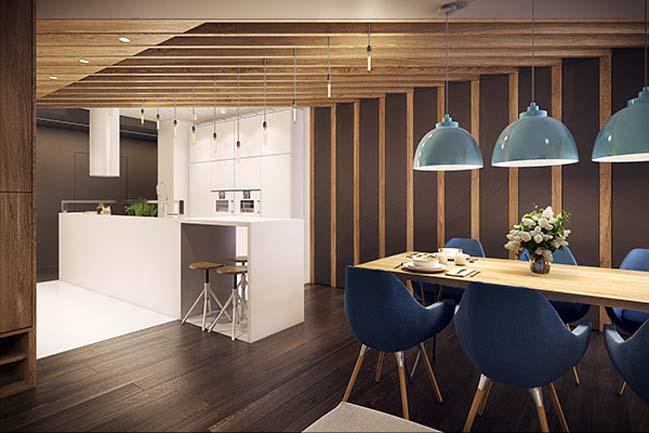 mau nha dep 18 Ngôi nhà đẹp không gian sống ấm áp và ấn tượng với một thiết kế nội thất hoàn hảo