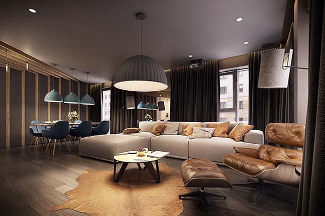 mau nha dep 20 Ngôi nhà đẹp không gian sống ấm áp và ấn tượng với một thiết kế nội thất hoàn hảo