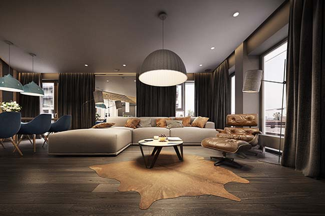 mau nha dep 21 Ngôi nhà đẹp không gian sống ấm áp và ấn tượng với một thiết kế nội thất hoàn hảo