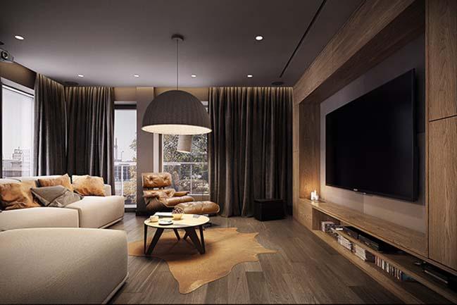 mau nha dep 22 Ngôi nhà đẹp không gian sống ấm áp và ấn tượng với một thiết kế nội thất hoàn hảo