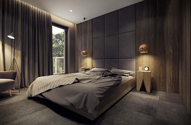 mau nha dep 23 Ngôi nhà đẹp không gian sống ấm áp và ấn tượng với một thiết kế nội thất hoàn hảo