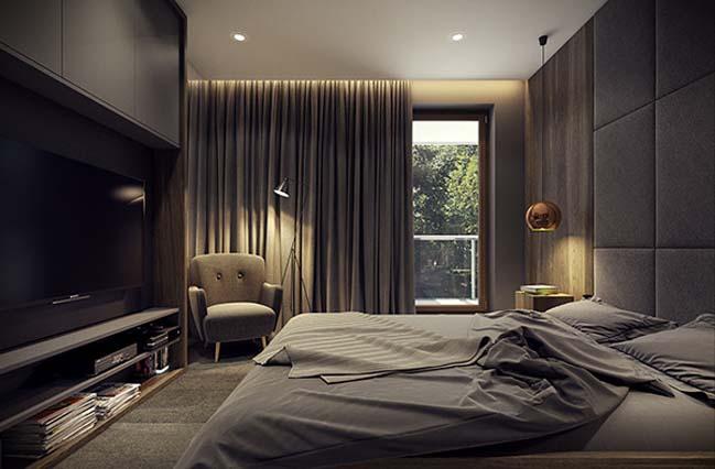 mau nha dep 27 Ngôi nhà đẹp không gian sống ấm áp và ấn tượng với một thiết kế nội thất hoàn hảo