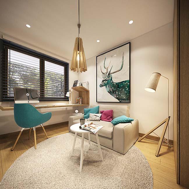 mau nha dep 28 Ngôi nhà đẹp không gian sống ấm áp và ấn tượng với một thiết kế nội thất hoàn hảo