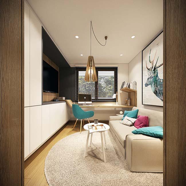mau nha dep 29 Ngôi nhà đẹp không gian sống ấm áp và ấn tượng với một thiết kế nội thất hoàn hảo
