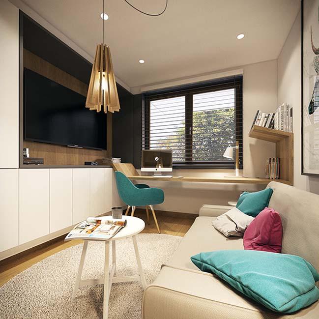 mau nha dep 31 Ngôi nhà đẹp không gian sống ấm áp và ấn tượng với một thiết kế nội thất hoàn hảo