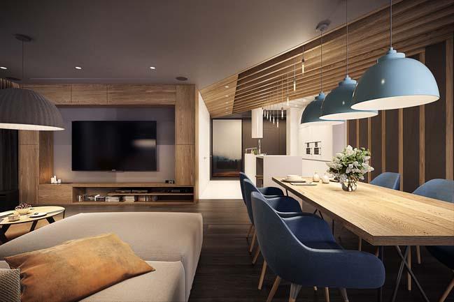 mau nha dep Ngôi nhà đẹp không gian sống ấm áp và ấn tượng với một thiết kế nội thất hoàn hảo
