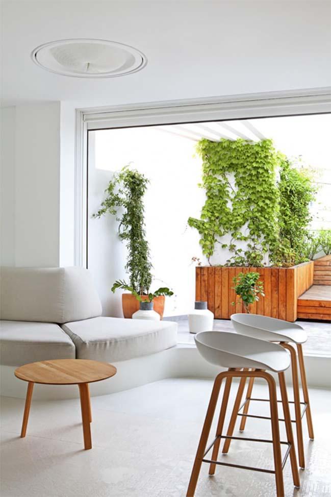 Mẫu nhà đẹp với thiết kế ấm áp và ngập tràn ánh sáng