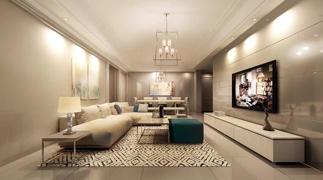 20 mẫu phòng khách đẹp dành cho căn hộ chung cư