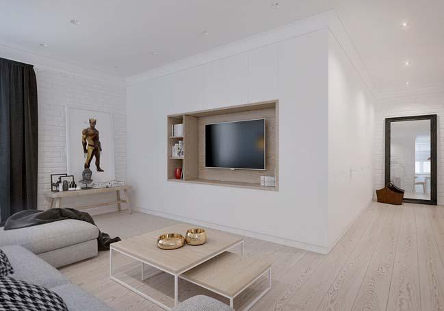 Căn hộ chung cư đẹp với phong cách Scandinavian