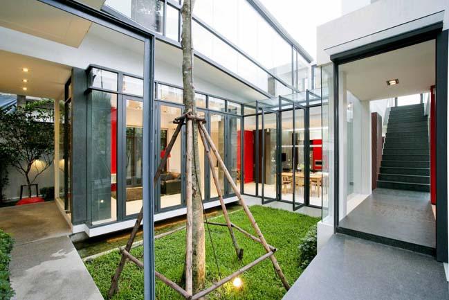 Mẫu thiết kế biệt thự đẹp tách biệt với môi trường xung quanh