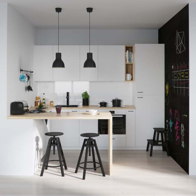 10 mẫu nhà bếp đẹp làm bạn muốn trổ tài nấu nướng