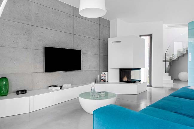 nha dep 2 tang 02 ngôi nhà đẹp 2 tầng mát mẻ và yên bình nhờ vào sự kết hợp hoàn hảo giữa các tông màu