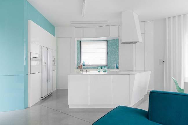 nha dep 2 tang 04 ngôi nhà đẹp 2 tầng mát mẻ và yên bình nhờ vào sự kết hợp hoàn hảo giữa các tông màu