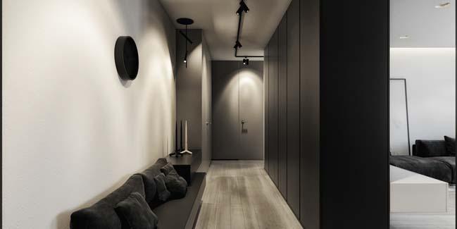 mau can ho chung cu dep 04 Chiêm ngắm mẫu căn hộ chung cư đẹp với phong cách tối giản