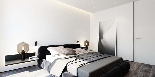 mau can ho chung cu dep 07 Chiêm ngắm mẫu căn hộ chung cư đẹp với phong cách tối giản