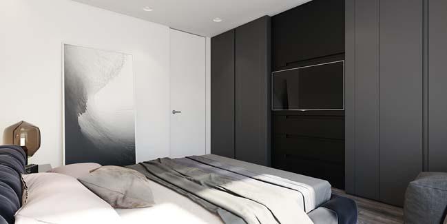 mau can ho chung cu dep 08 Chiêm ngắm mẫu căn hộ chung cư đẹp với phong cách tối giản